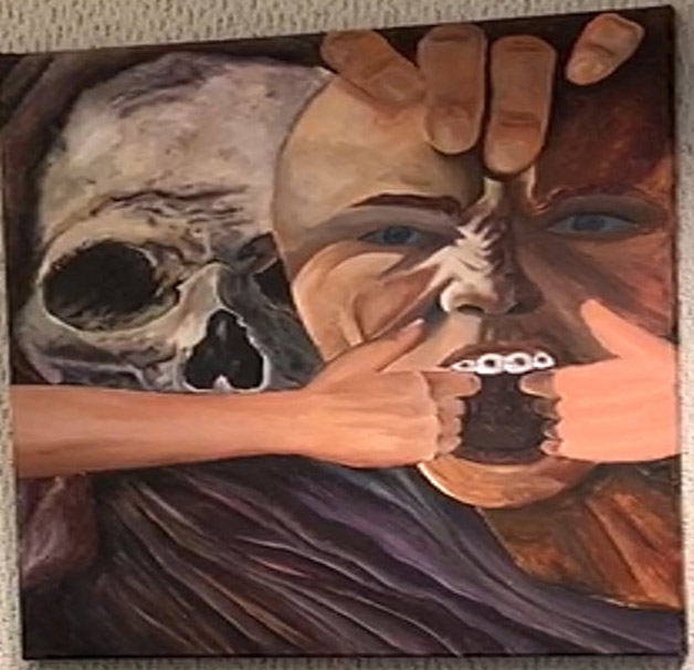 2nd Place in Painting from Pedro Menendez High School