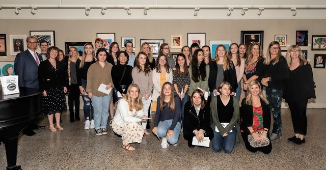 All County High School Art Show 2020 Group Photo