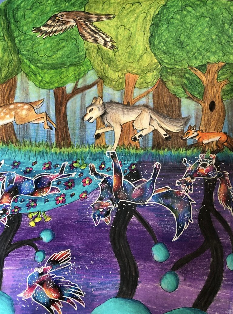Switzerland Point Middle School Student Artwork