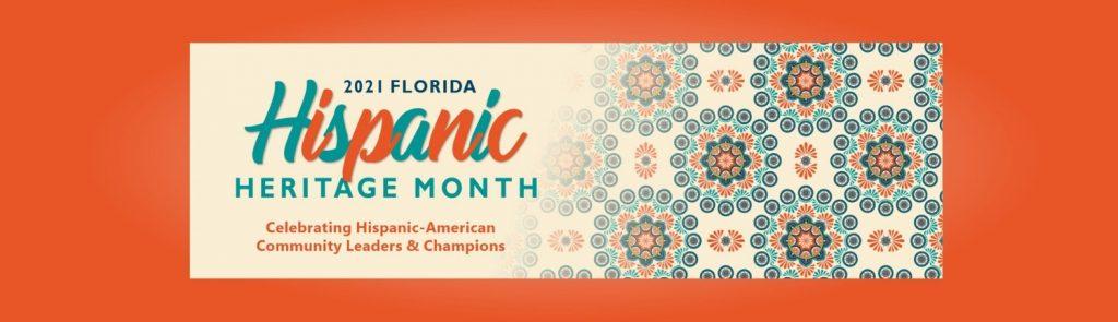 2021 Florida Hispanic Heritage Month Logo