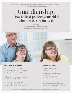 Guardianship Presentation Flyer