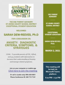 Anxiety - Diagnostic Criteria, Symptoms, and Strategies on Mar. 2