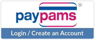 PayPAMS - Login / Create an Account