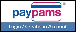 PayPAMS - Login / Create an Account