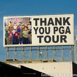 billboard for pga tour