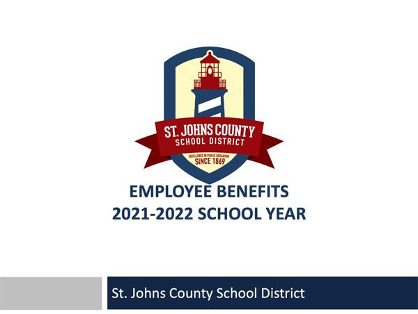 Employee Benefits 2021-2022 School Year