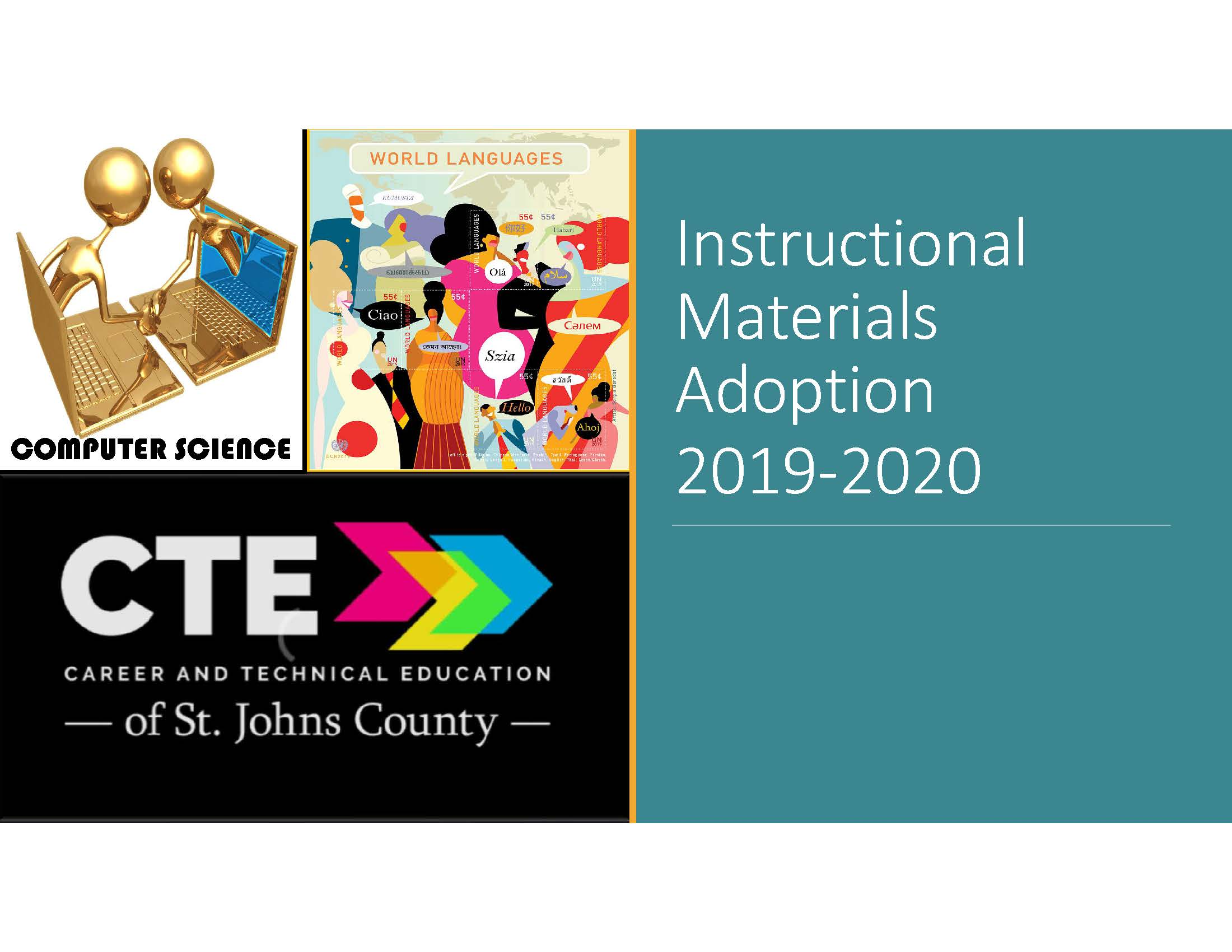 Instructional Materials Adoption St Johns County School District