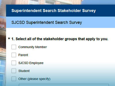 Superintendent Search Stakeholder Survey Released