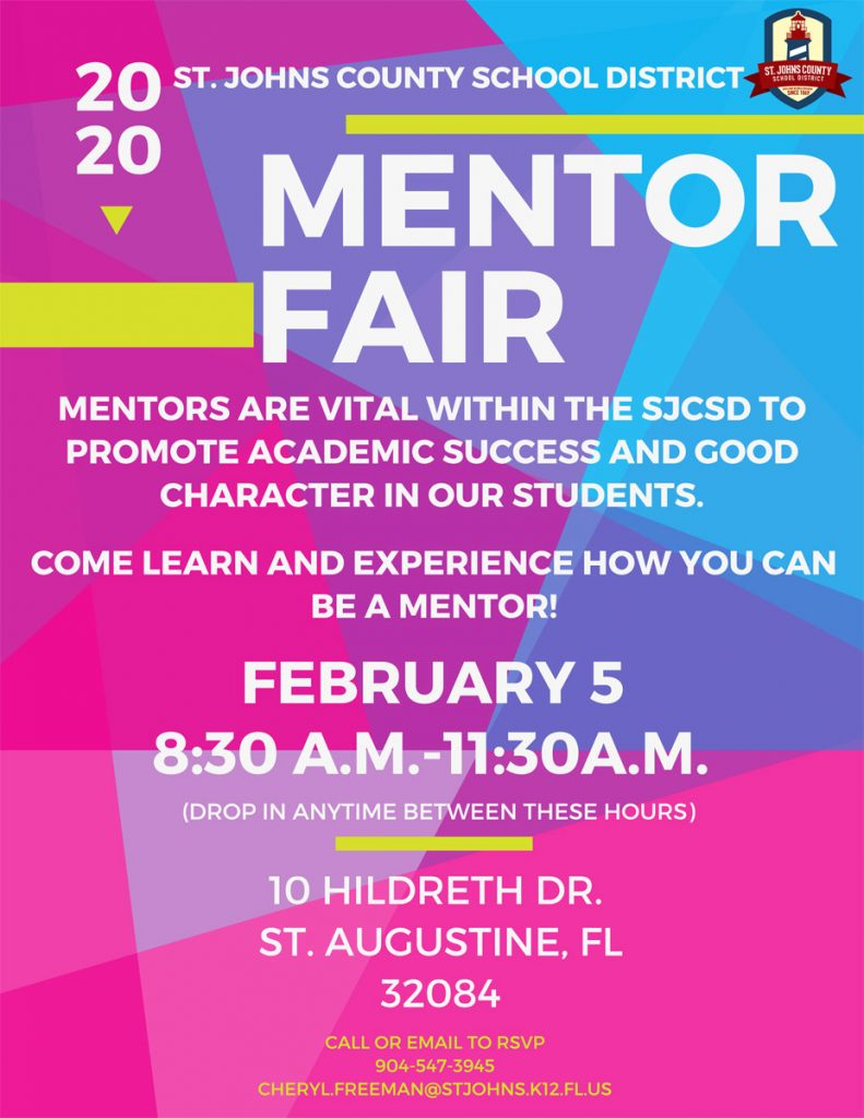 Mentor Fair Flyer