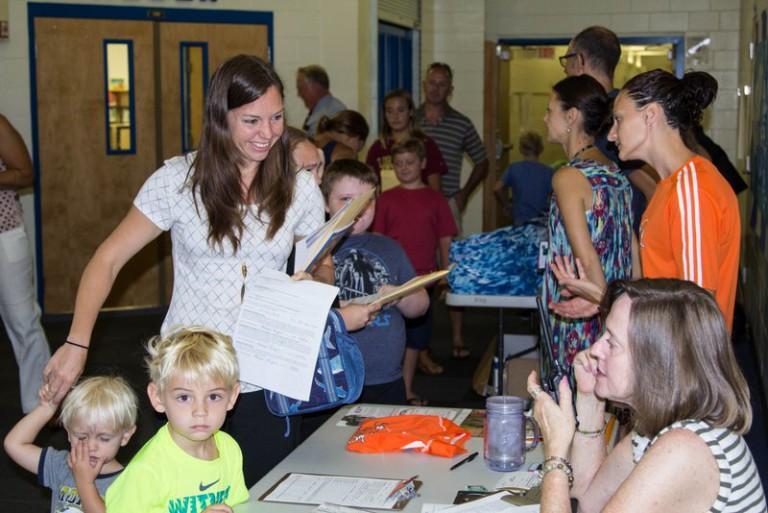 New Media Center at Osceola Elementary School