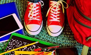 School supplies and shoes
