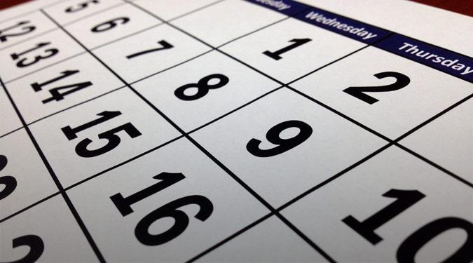 Proposed Calendars 2021-2024