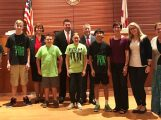Sebastian Middle School Legislative Delegation