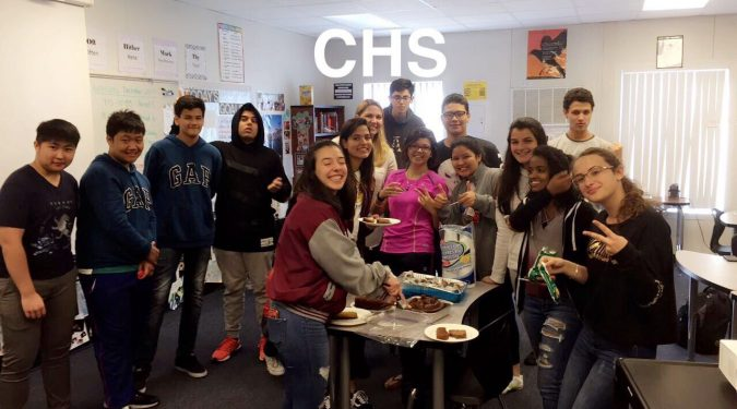 Special ESOL Class at Creekside High School