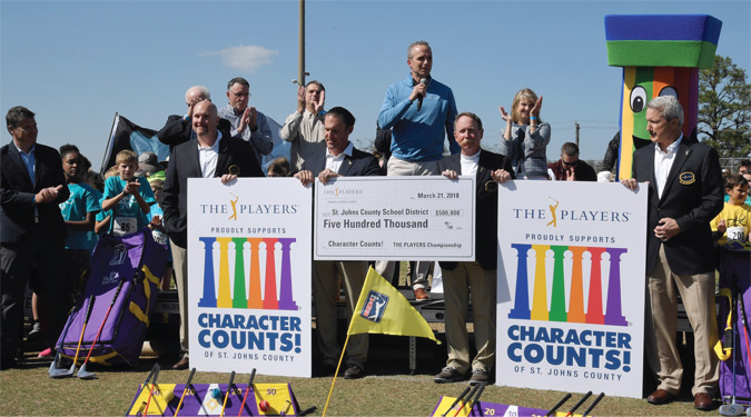 The Players Makes a $500,000 Donation to the SJCSD