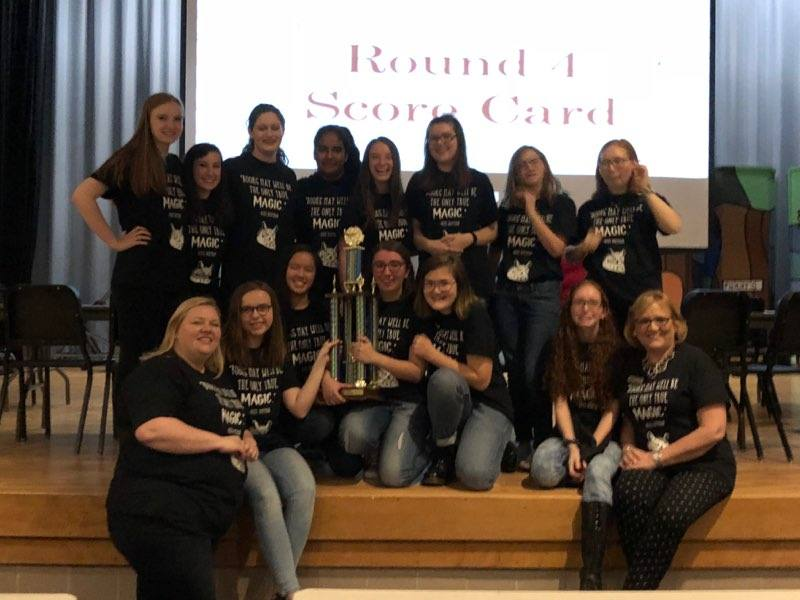 Creekside High School 2018 Battle of the Books Winners
