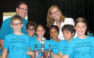 The PVPV/Rawlings Sea Turtles Team at the 2018 Battle of the Books