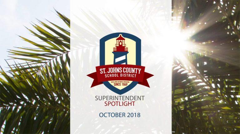 Superintendent Spotlight - October 2018