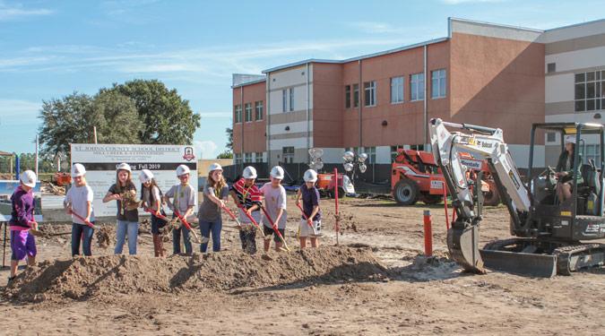 Mill Creek Academy Groundbreaking Ceremony