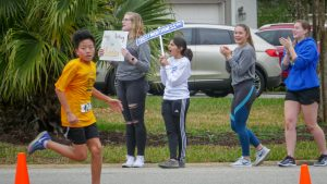 Runners participating in the 2019 Character Counts Run/Walk