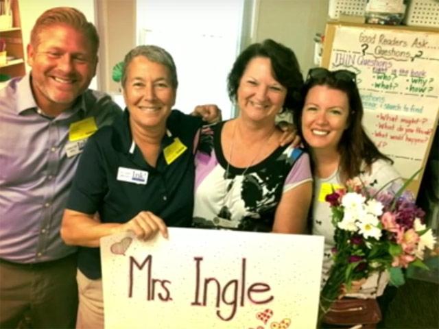 Ms. Ingle's Make a Mark Award