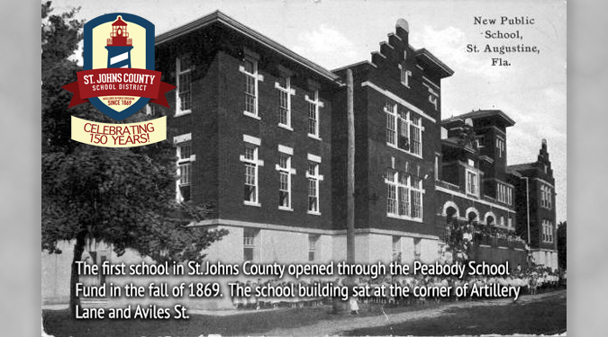 Historical Fact about St. Johns County School District