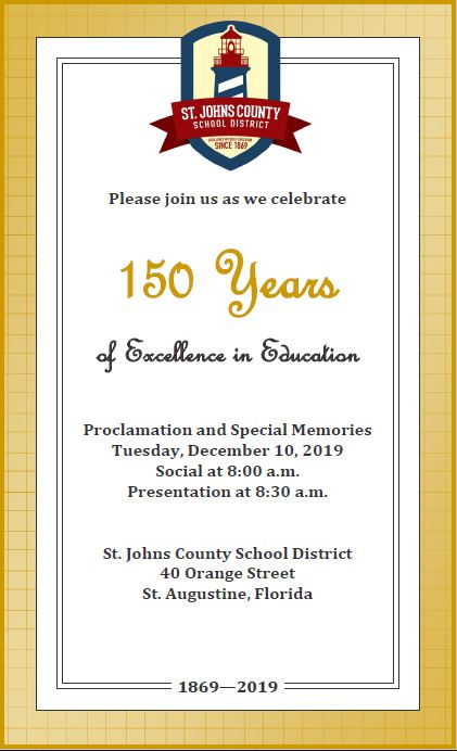 150th Invitation Fyler