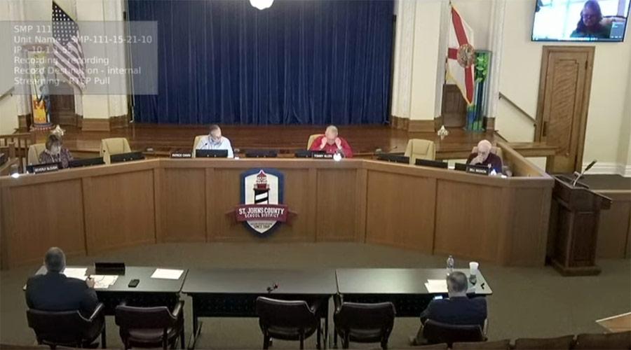School Board Livestream