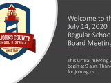 July 14th School Boar Meeting