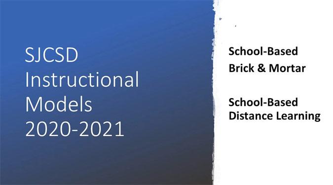 Instructional Models 2020-2021 Presentation