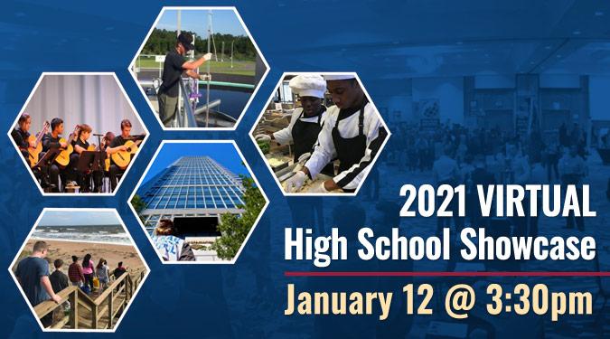 2021 Virtual High School Showcase - January 12 @ 3:30pm