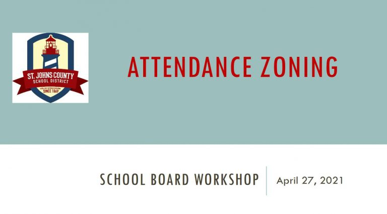 School Board Workshop Attendance Zoning Presentation - April 27, 2021