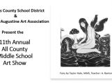 All County Middle School Art Show 2021