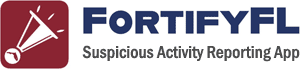 FortifyFL - Suspicious Activity Reporting App