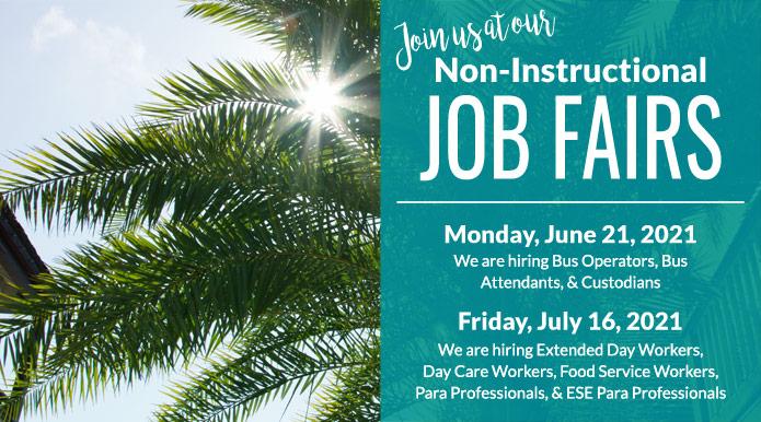 Non-Instructional Job Fairs