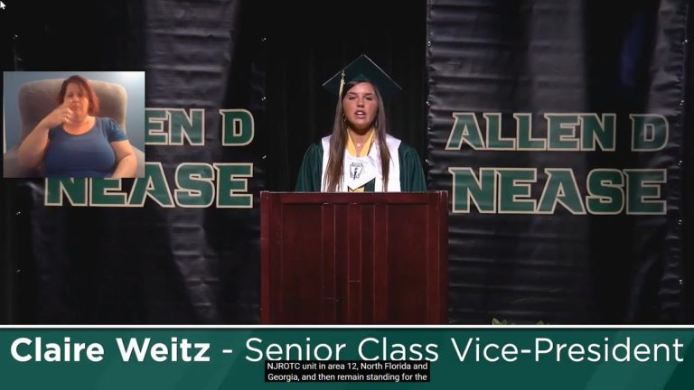 Allen D. Nease High School Graduation 2020