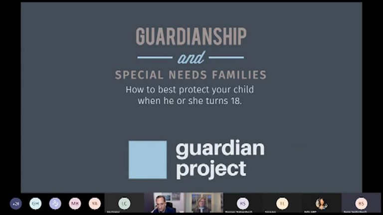 """ESE Parent Advisory Meeting - """"Guardianship and Special Needs Families"""""""