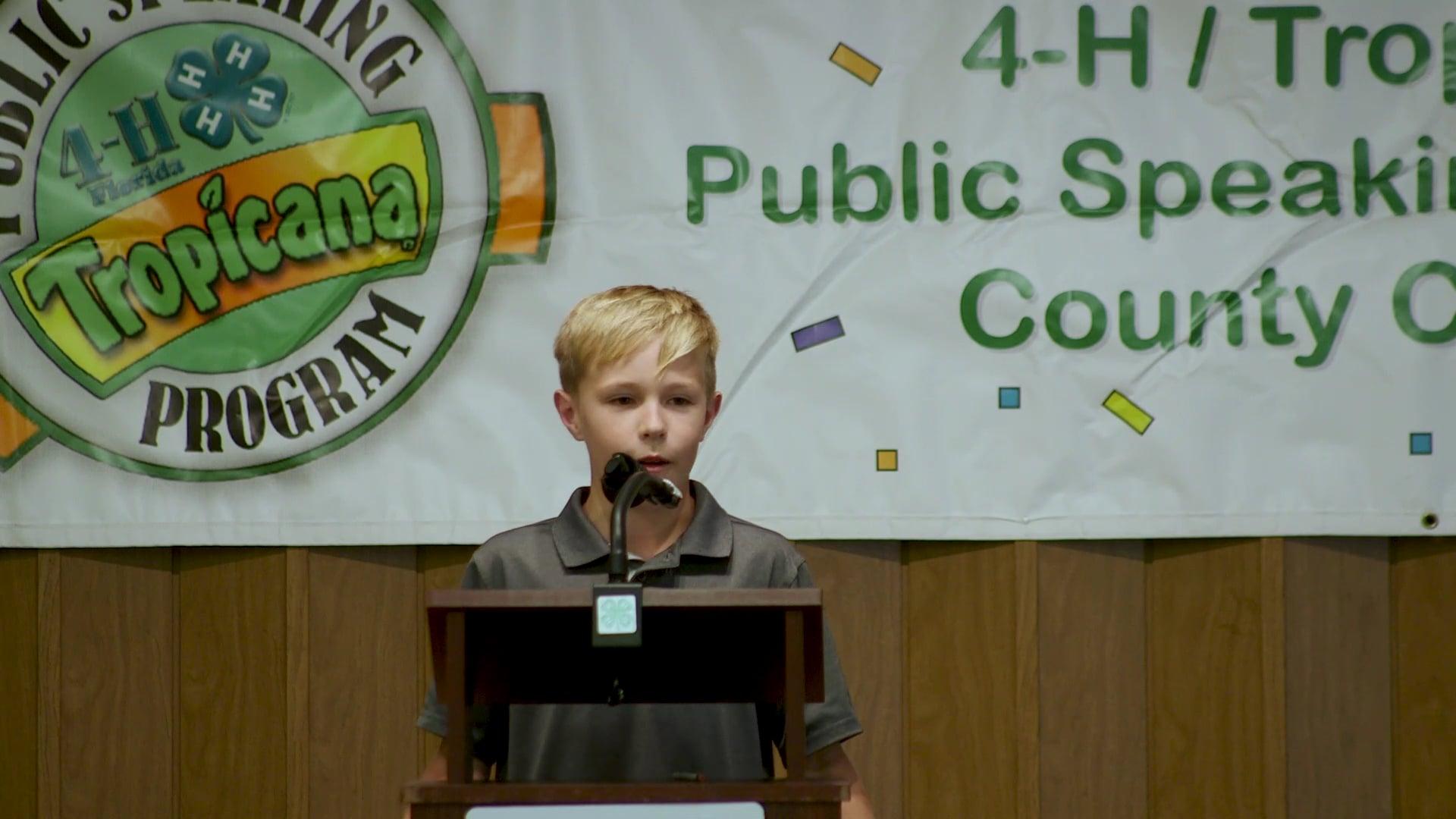 4-H Tropicana Speech Contest 2019