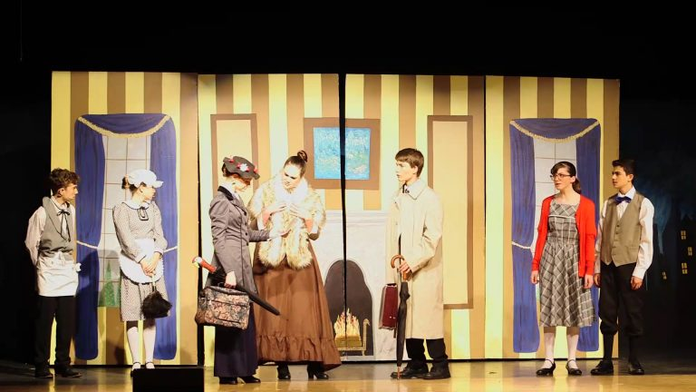 Mary Poppins Jr. at Liberty Pines Academy