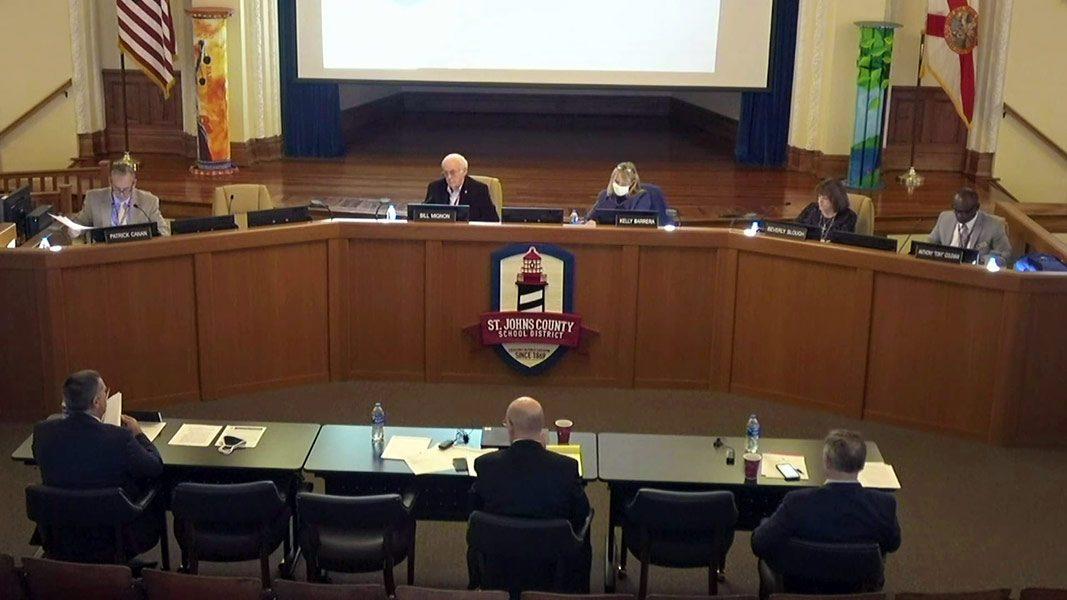 St. Johns County School Board Meeting