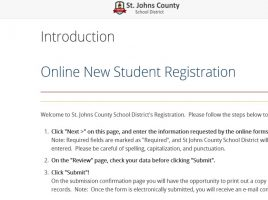 New Student Online Registration System