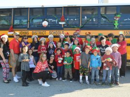 Kids of the Transportation Department Join the Parade