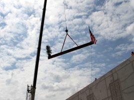 "Topping Out Ceremony at New K-8 School ""LL"""